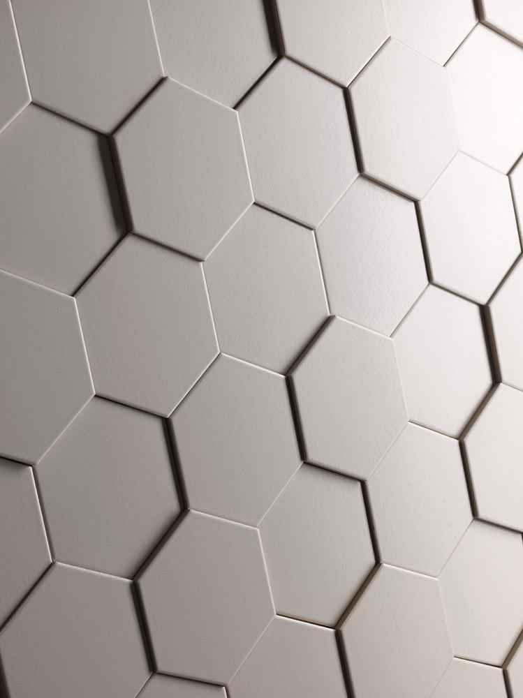 Carrelage int rieur for Carrelage blanc hexagonal